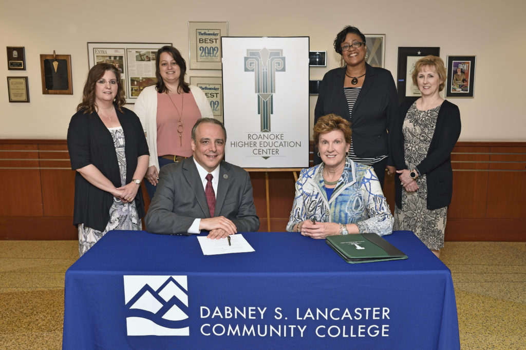 Roanoke Higher Education Center and Dabney S. Lancaster Community College referendum signing