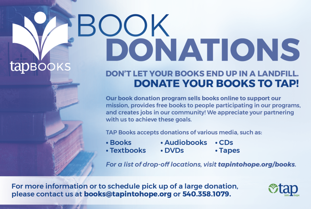 TAP Book Donations