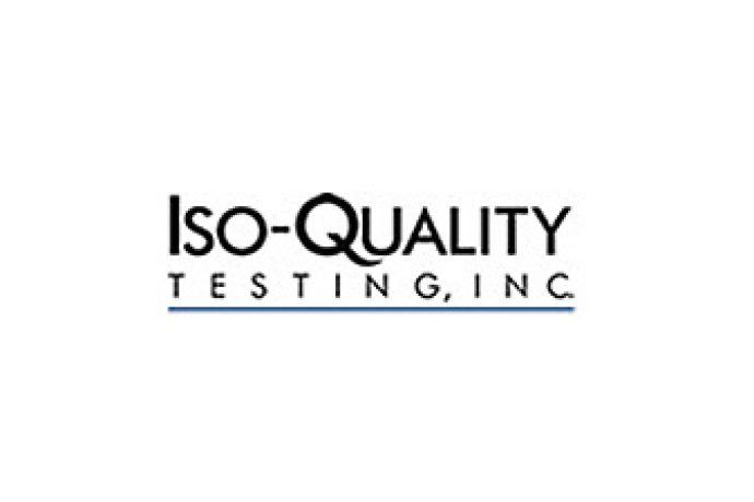 ISO quality testing logo